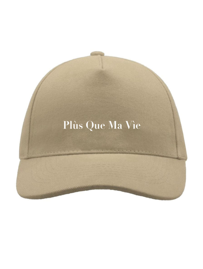 BEIGE BOX LOGO HAT